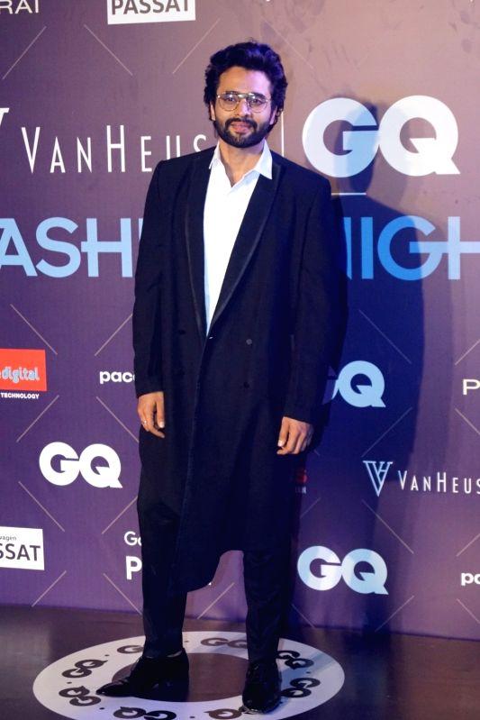 Actor Jackky Bhagnani during Van Heusen + GQ Fashion Nights 2017 in Mumbai on Nov 11, 2017. - Jackky Bhagnani