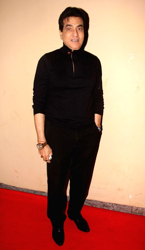Actor Jatinder during the premiere of film Lekar Hum Deewana Dil at PVR Cinemas in Mumbai, on July 3, 2014. - Jatinder
