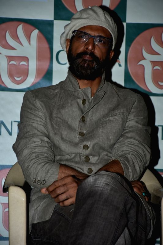 Actor Javed Jaffrey during the press conference of Cine And Tv Artistes Association in Mumbai (Image Source: IANS)
