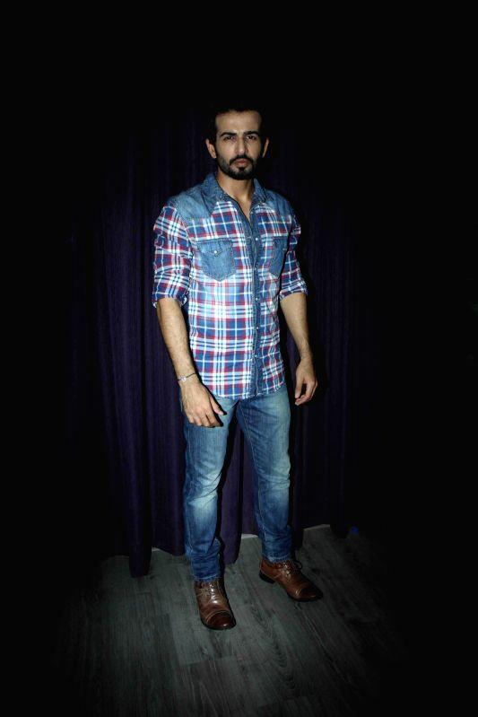 Actor Jay Bhanushali during the promotion of film Ek Paheli Leela in Mumbai on March 30, 2015. - Jay Bhanushali