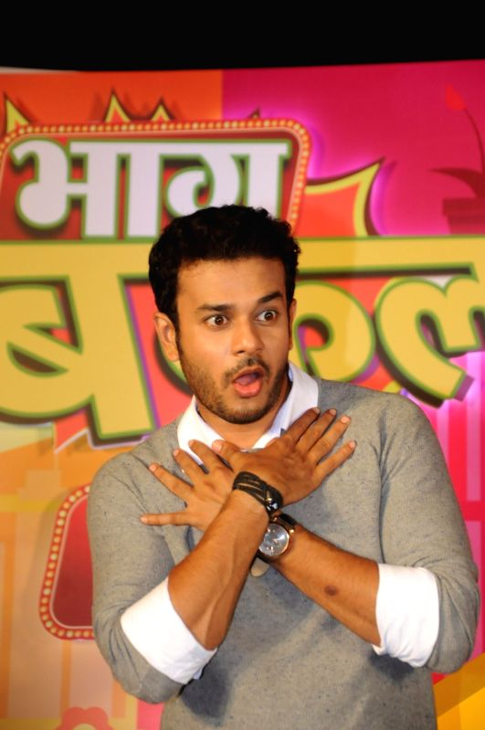 """Actor Jay Soni during the launch of TV serial """"Bhaag Bakool Bhaag"""" in Mumbai on May 11, 2017. - Jay Soni"""