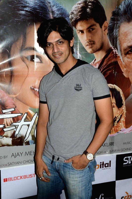 Actor Jeet Goshwami during a press meet of film Bazaar-E-Husn based on Munshi Premchandji's Urdu novel in Mumbai on July 11, 2014. - Jeet Goshwami