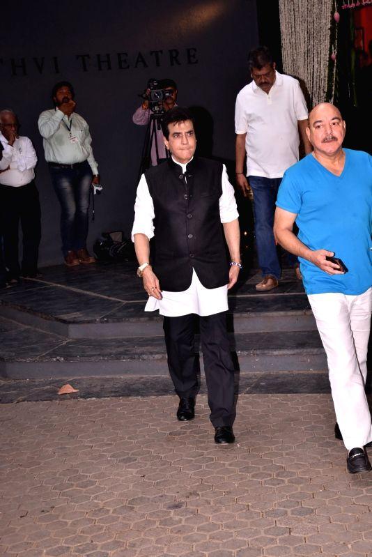 Shashi Kapoor's condolence meet - Jeetendra and Shashi Kapoor