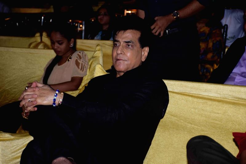 Actor Jeetendra during a program to celebrate world environment day organized by Bhamla Foundation and MCGM in Mumbai, on June 5, 2017. - Jeetendra