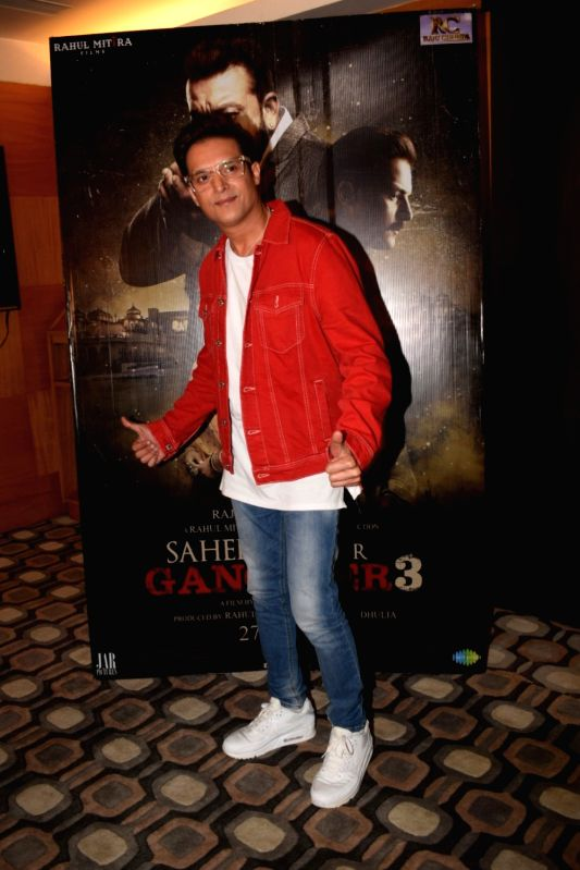 """Actor Jimmy Shergill during a media interaction of his film """"Saheb Biwi Aur Gangster 3"""" in Mumbai on July 27, 2018. - Jimmy Shergill"""