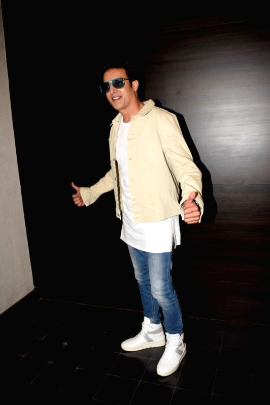 """Actor Jimmy Shergill during a media interaction to promote his upcoming film """"Happy Phirr Bhag Jayegi"""" in Mumbai on July 31, 2018. - Jimmy Shergill"""
