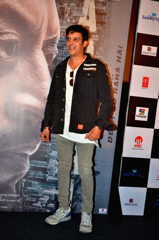Actor Jimmy Shergill during the trailer launch of film Madaari in Mumbai on May 11, 2016. - Jimmy Shergill