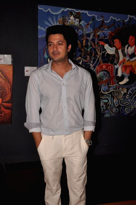 Actor Jishu Sengupta during special screening of Bengali film Buno Haansh in Mumbai. - Jishu Sengupta