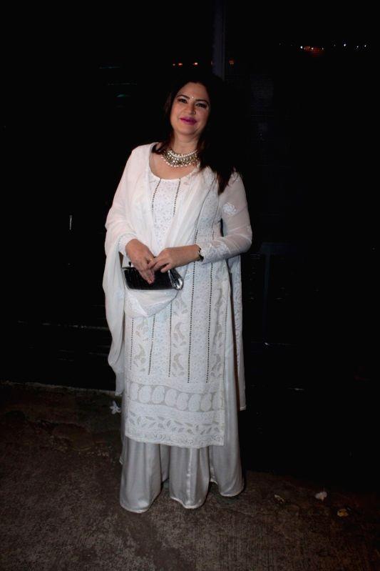 Actor Jitendra Joshi during the success party of the film Ventilator in Mumbai on April 25, 2017. - Jitendra Joshi