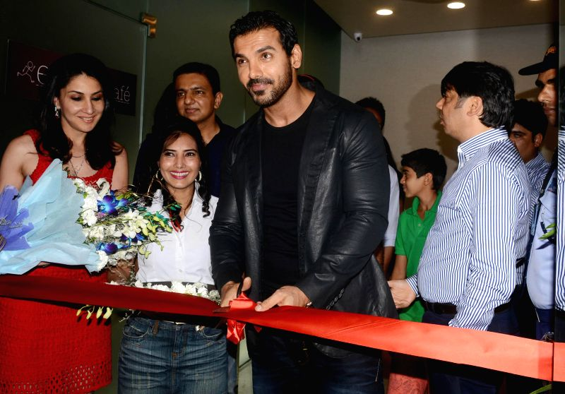 Actor John Abraham during a programme in New Delhi on July 21, 2014.