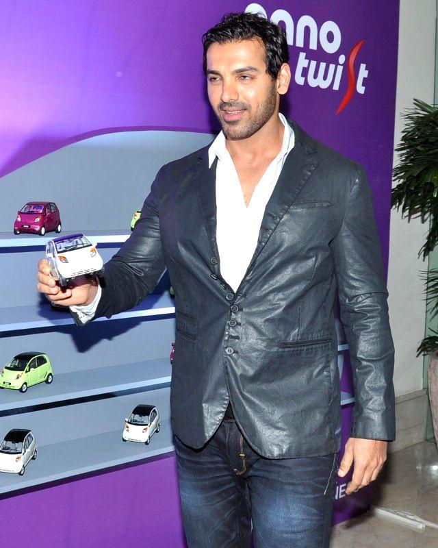 Actor John Abraham during the Red carpet of HT Delhi`s Most Stylish Awards at the Oberoi Hotel Gurgaon on April 18, 2014. - John Abraham