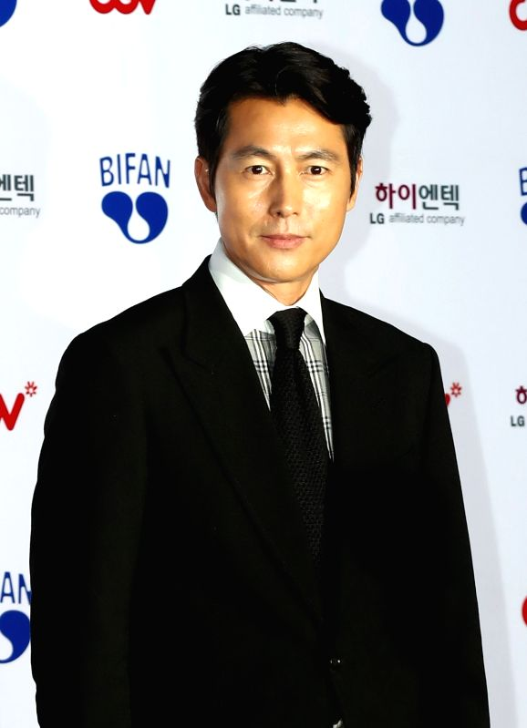 Actor Jung Woo-sung attends the opening ceremony of the Bucheon International Fantastic Film Festival (BIFAN) at Bucheon City Hall in Bucheon, Gyeonggi Province, on July 12, 2018. - Jung Woo