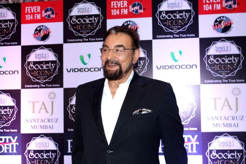 Actor Kabir Bedi.