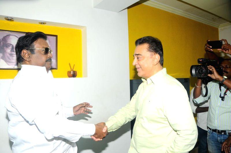 delhi press meet vijayakanth images