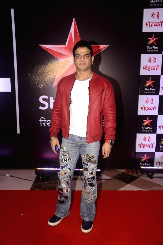 "Actor Karan Patel during the celebration of his television show ""Yeh Hai Mohabbatein"" completes 1500 episodes in Mumbai on July 25, 2018. - Karan Patel"
