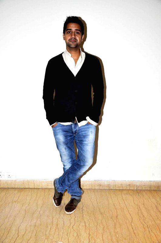 Actor Kavi Shastri during media interaction of film Amit Sahni Ki List in Mumbai on July 9, 2014. - Kavi Shastri
