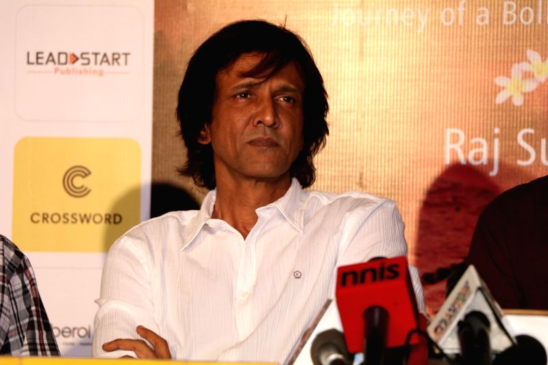 Actor Kay Kay Menon during the book launch of When Life Turns Turtle by author Raj Supe in Mumbai on July 27, 2016. - Kay Kay Menon