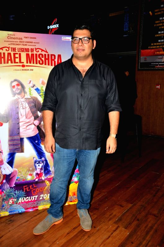 Actor Kayoze Irani during the music launch of the upcoming film The Legend of Michael Mishra in Mumbai on July 20, 2016. - Kayoze Irani and Mishra