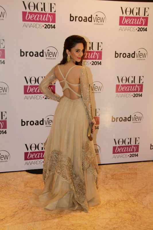 Actor Kiara Advani during the Vogue Beauty Awards 2014, in Mumbai on July 22, 2014. - Kiara Advani