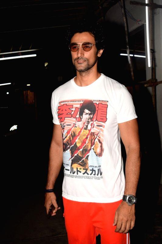 "Actor Kunal Kapoor arrives at the screening of the film ""Bhavesh Joshi Superhero"" in Mumbai on May 31, 2018. - Kunal Kapoor and Bhavesh Joshi Superhero"