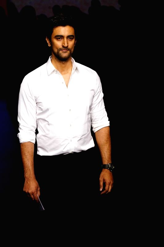 Actor Kunal Kapoor during the Lakme Fashion Week Summer/Resort 2018 in Mumbai on Jan 31, 2018. - Kunal Kapoor