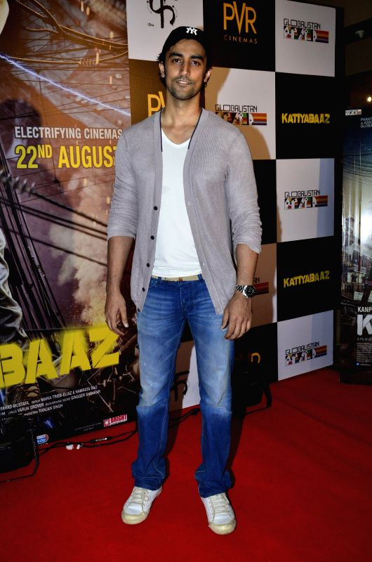 Actor Kunal Kapoor during the screening of the film Katiyabaaz in Mumbai, on Aug. 20, 2014. - Kunal Kapoor
