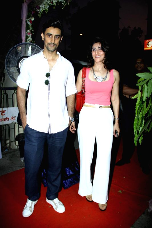 Actor Kunal Kapoor with his sister during the the launch of DVAR luxury multi designer store launch in Mumbai  on May 06, 2014 - Kunal Kapoor