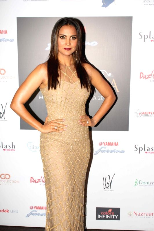 Actor Lara Dutta  during the promo launch of Yamaha Fascino Miss Diva 2016, 6-part Television series in Mumbai on August 2016 - Lara Dutta