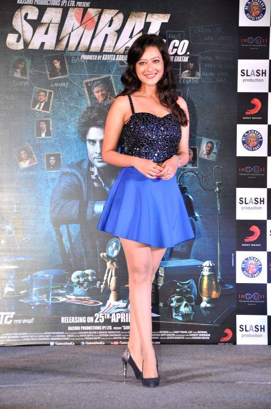 Actor Madalasa Sharma during the music launch of film Samrat & Co in Mumbai on April 11, 2014. - Madalasa Sharma
