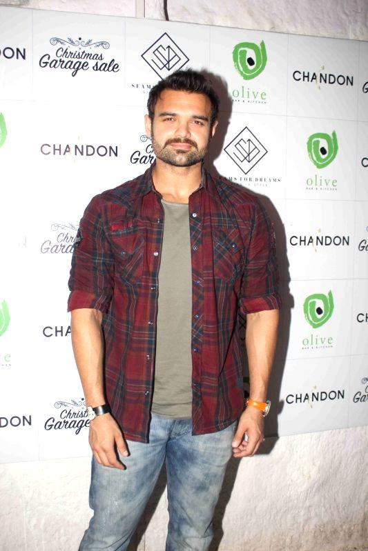 Actor Mahaakshay Chakraborty during the Christmas fun garage sale in Mumbai on Dec 6, 2015. - Mahaakshay Chakraborty