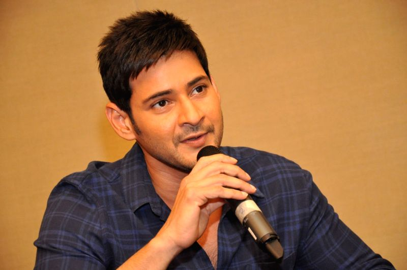 Actor Mahesh Babu during a interview for his upcoming film Brahmostavam. - Mahesh Babu