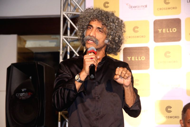 Actor Makarand Deshpande during the book launch of When Life Turns Turtle by author Raj Supe, in Mumbai on July 27, 2016. - Makarand Deshpande