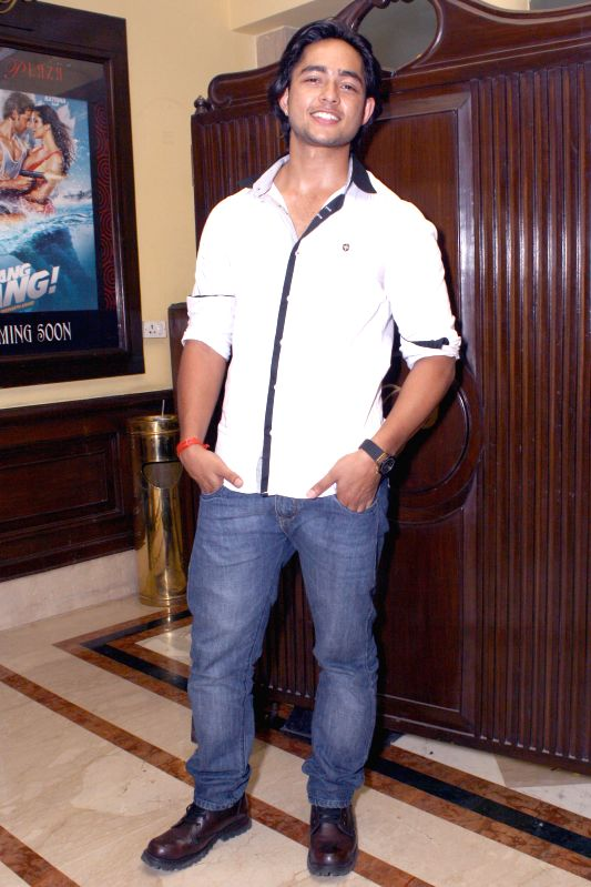 Actor Manish Chaudhary during a press conference to promote his upcoming film `Trip To Bhangarh` in New Delhi on Aug 22, 2014. - Manish Chaudhary
