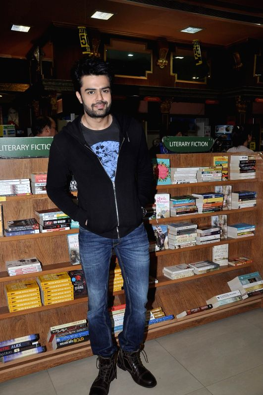 Actor Manish Paul during the launch of book Best Friends Forever written by author Supriya Parulekar in Mumbai on July 25, 2014. - Manish Paul