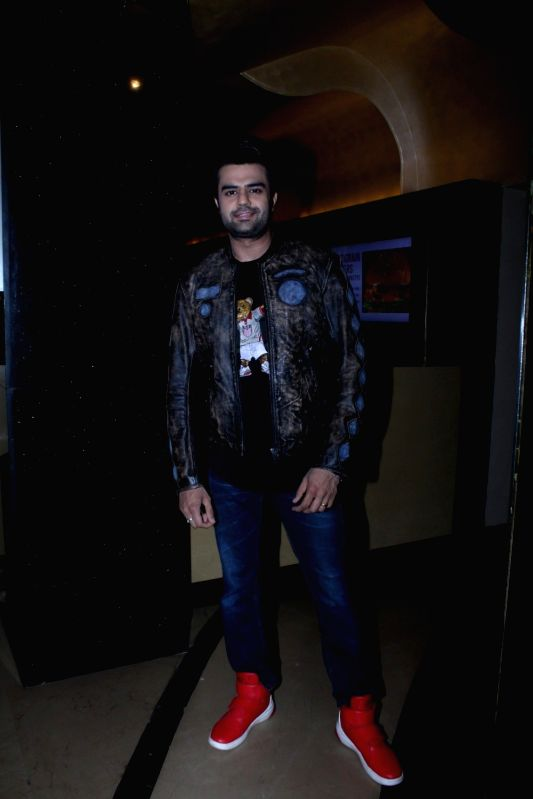 Actor Manish Paul during the music launch of marathi film Hrudayantar in Mumbai, on June 10 2017. - Manish Paul