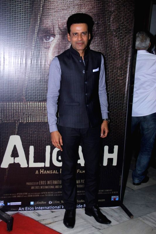 Actor Manoj Bajpayee during the Jio MAMI 17th Mumbai Film Festival in Mumbai, on Oct 30, 2015. - Manoj Bajpayee