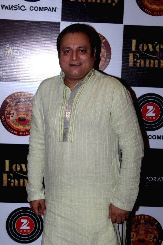 Actor Manoj Joshi during the music and trailer launch of film Love You Family in Mumbai on May 15, 2017. - Manoj Joshi