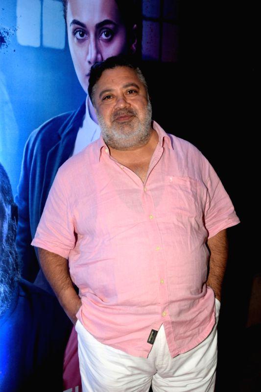 "Actor Manoj Pahwa at the success party of his film ""Mulk"" in Mumbai on Aug 10, 2018. - Manoj Pahwa"