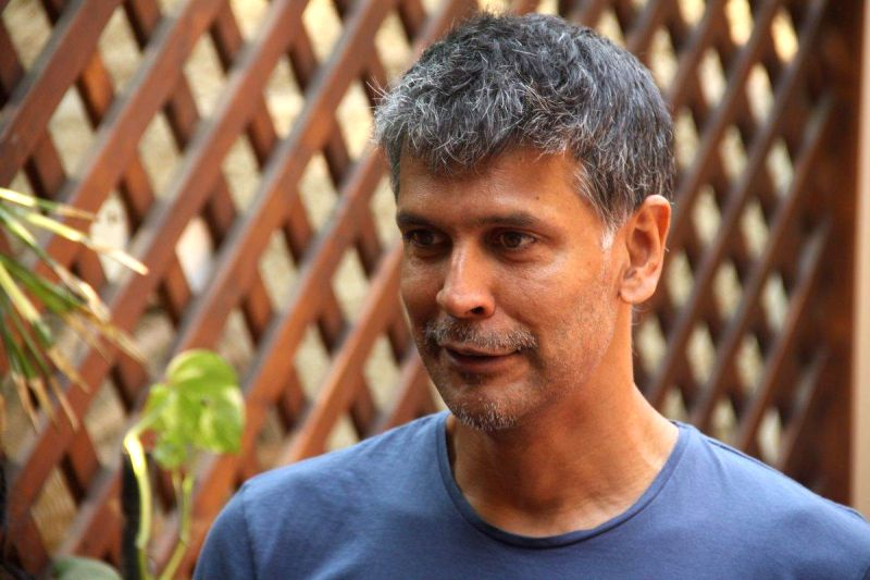 HCG Pinkathon 2013 registrations success event - Milind Soman