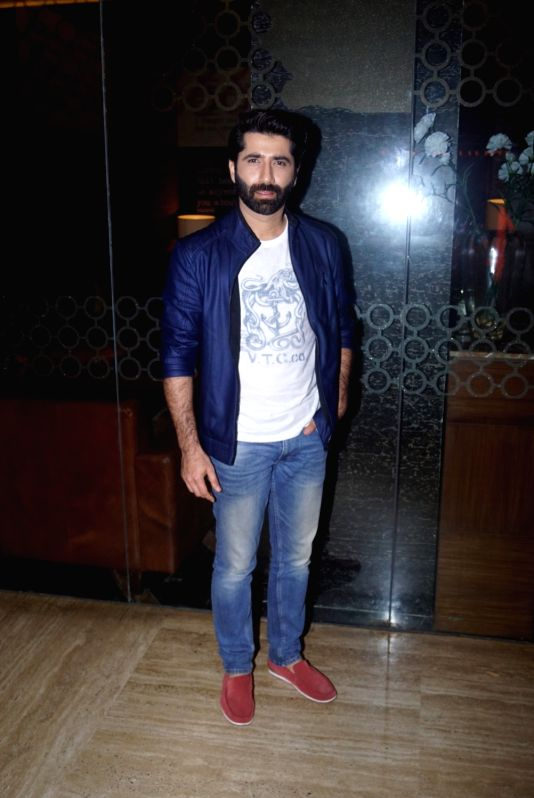 "Actor Mir Sarwar at the trailer launch of his upcoming film ""Laila Majnu"" in Mumbai on Aug 7, 2018. - Mir Sarwar"