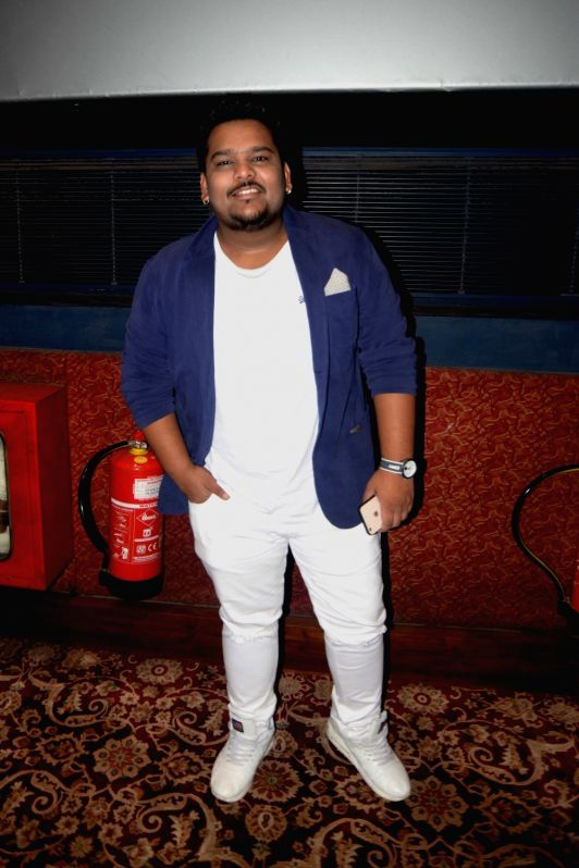 """Actor Mohit Baghel during the special screening of his upcoming film """"When Obama Loved Osama"""", in New Delhi on July 28, 2018. - Mohit Baghel"""