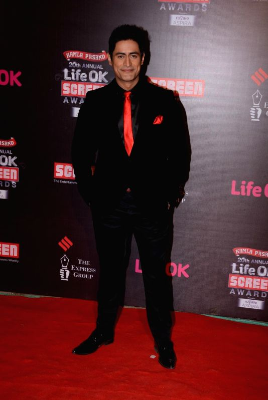 20th Annual Life OK Screen Awards - Mohit Raina