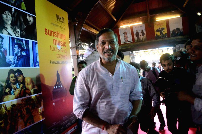 Actor Nana Patekar arrives during a programme in Mumbai on July 25, 2016. - Nana Patekar