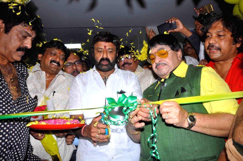 Actor Nandamuri Balakrishna inaugurates Andhra Pradesh Film Development Corporation (APFDC) in Vijayawada, Karnataka on Oct 1, 2017. - Nandamuri Balakrishna