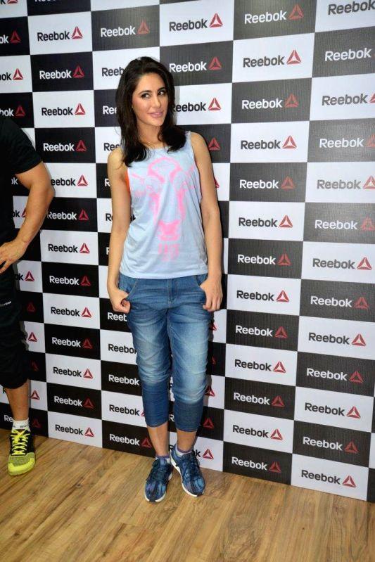 Actor Nargis Fakhri during the launch of Reebok Fithub store and studio in Mumbai, on Sep. 01, 2014. - Nargis Fakhri