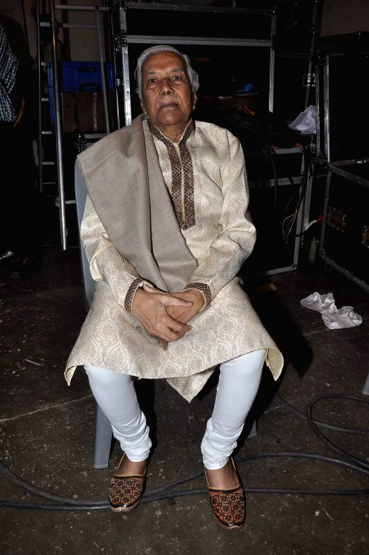 Actor Nashiruddin Shah during the Poetry festival organsied by Ahtesab Foundation in Mumbai, on Aug. 16, 2014.