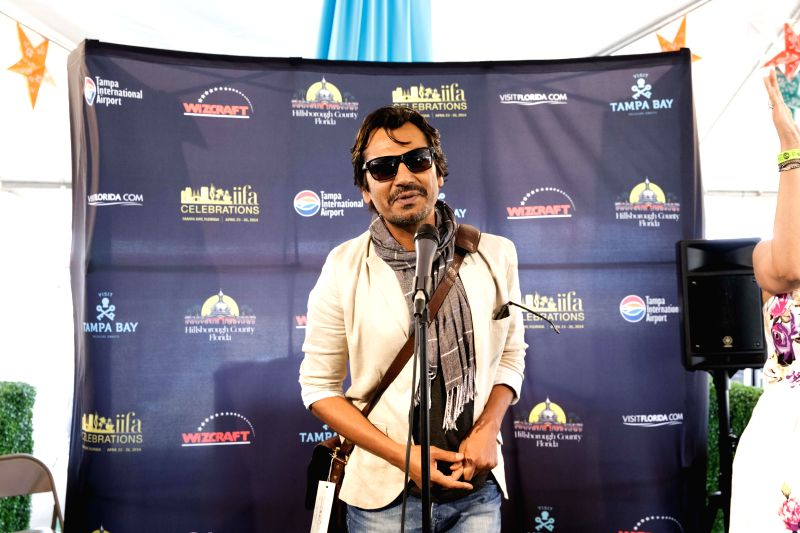 Actor Nawazuddin Siddiqui arrives to attend the 15th Annual IIFA weekend in Florida of United States of America. - Nawazuddin Siddiqui