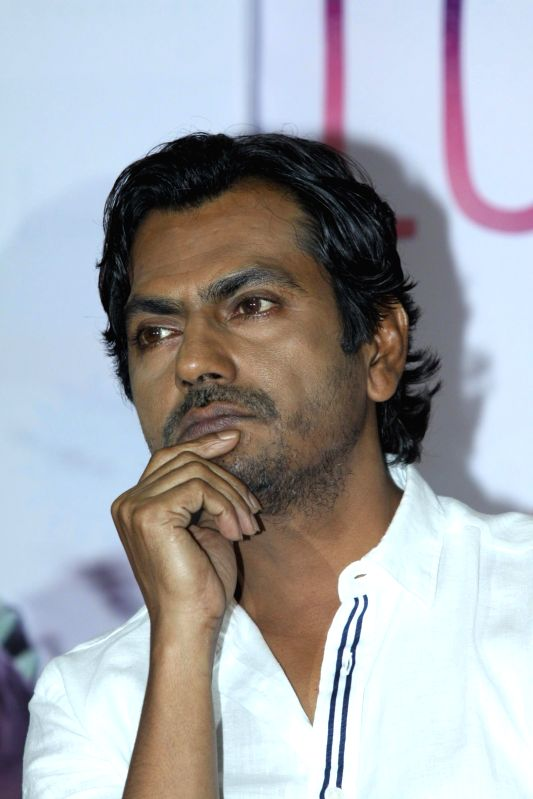 Actor Nawazuddin Siddiqui during the DVD launch of film The Lunchbox in Mumbai on August 6, 2014. - Nawazuddin Siddiqui