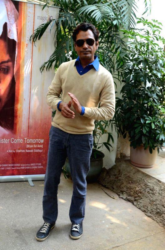 Screening of Miya Kal Aana - Nawazuddin Siddiqui