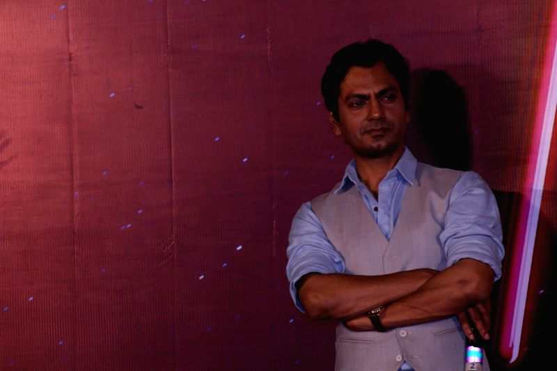 "Actor Nawazuddin Siddiqui during the trailer launch of his upcoming film ""Munna Michael"" in Mumbai, on June 4, 2017. - Nawazuddin Siddiqui"